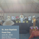 June 2018 Feast of St. Jean Baptiste photo album